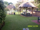 The Southern side braai (barbeque) area